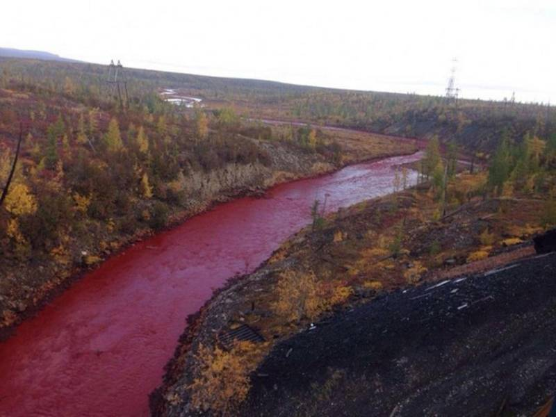 Rivers Are Running The Colour Of Blood And The Apocalypse Is Coming, Maybe