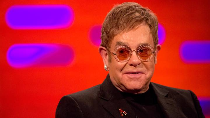 ​Elton John Reveals Bizarre Wedding Present From Eminem On 'The Graham Norton Show'