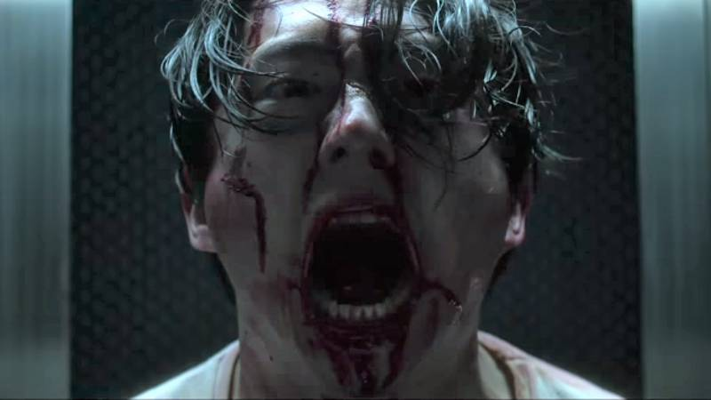 'The Walking Dead's' Steven Yeun Gets Even Bloodier In 'Mayhem' Trailer