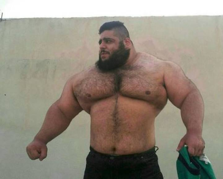 The Man Known As The 'Iranian Hulk' Is Going To Syria To Fight ISIS