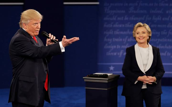 Trump Burns Hillary At The Presidential Debate And The Crowd Loses It
