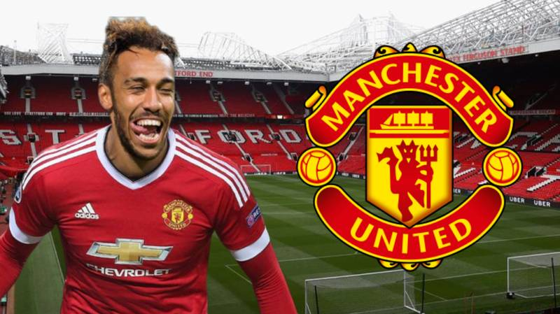 "Pierre-Emerick Aubameyang Says ""Yes"" To Shock Transfer To Manchester United"