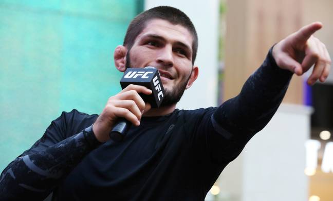 Khabib Nurmagomedov will take on Dustin Poirier in Abu Dhabi this weekend