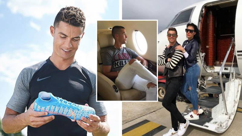 Cristiano Ronaldo Becomes Football's First Ever Billionaire