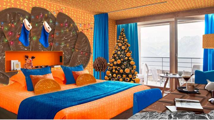 You Can Stay In The 'World's First' Chocolate Orange-Inspired Room