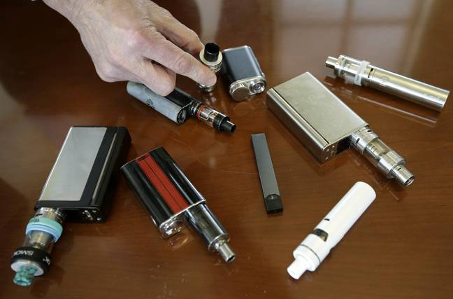Authorities are investigating a number of cases thought to be related to vaping in the US. Credit: PA