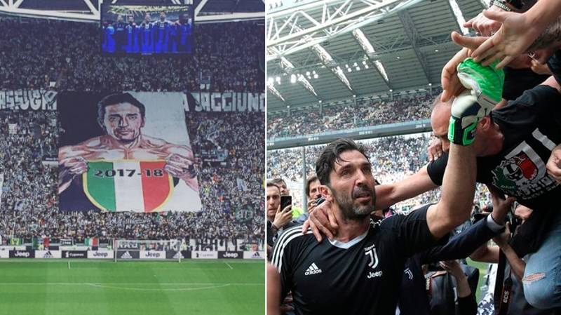 Emotional Scenes As Gianluigi Buffon Plays His Final Juventus Game