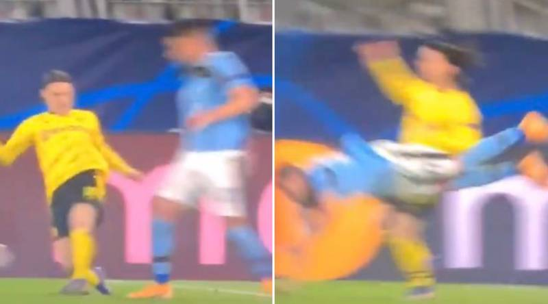 Lazio's Penalty Against Borussia Dortmund Branded One Of The Worst Refereeing Decisions In Champions League History