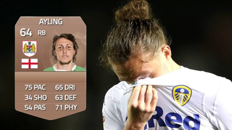 Luke Ayling Explains Why He Had One Of The Worst Ever FUT Card Photos