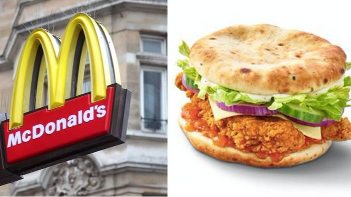 McDonald's Is Launching An Indian Chicken Sandwich With A Garlic Naan Bun