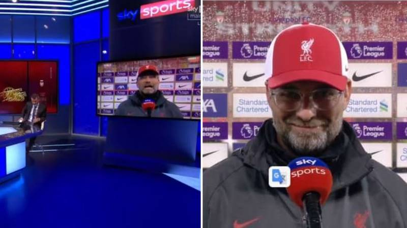 Jurgen Klopp Argues With Roy Keane Live On Air