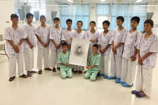 Thai Boys Who Were Rescued From Cave Set To Be Released From Hospital Today