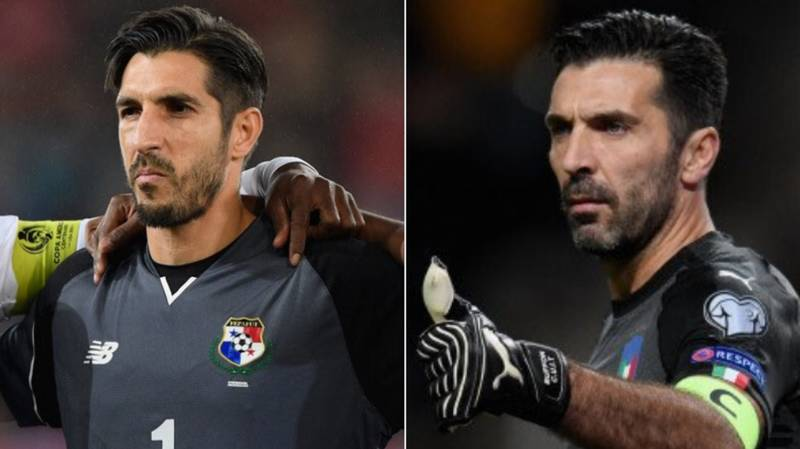 Gianluigi Buffon's Doppelganger Is Playing For Panama In The World Cup
