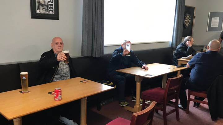 Man Says First Sip Of Carling Post-Lockdown Is Like 'An Angel P***ing' On His Tongue