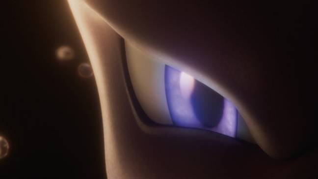 A teaser image for 'Mewtwo Strikes Back Evolution': Credit: The Pokémon Company