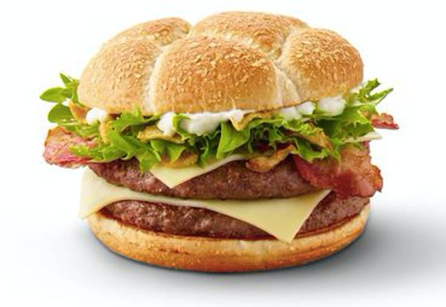 Other McDonald's dishes include the cheesy Swiss Stack Credit: McDonald's
