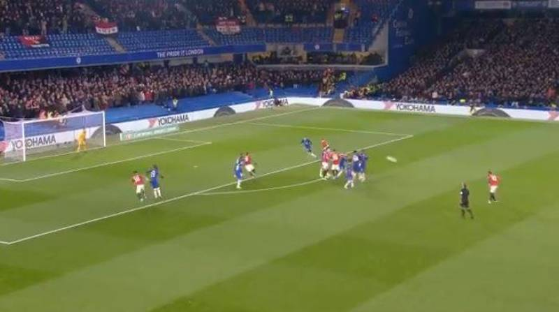 Marcus Rashford Scores Sensational 35-Yard Knuckleball Free-Kick To Dump Chelsea Out Of The League Cup