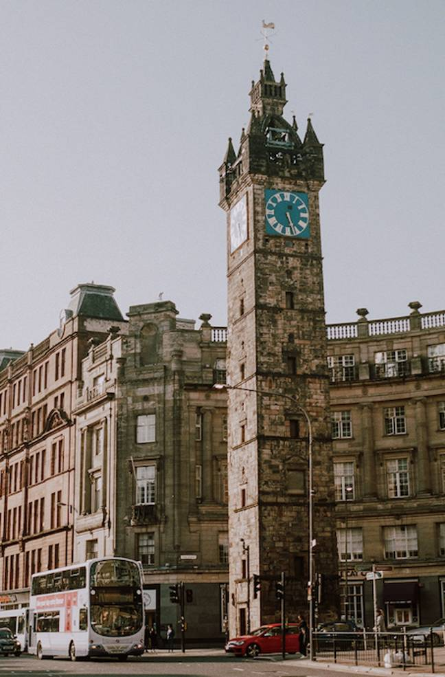 Part of Glasgow's city centre has been placed under lockdown (Credit: Shutterstock)