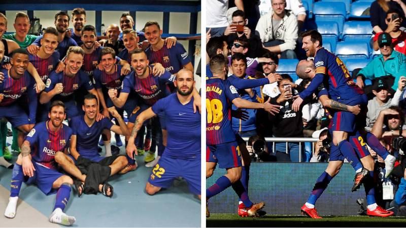 Fans Think That Aleix Vidal Was Mocking Cristiano Ronaldo With His Celebration