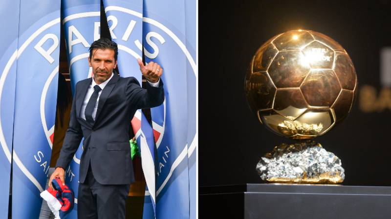 Gianluigi Buffon Names His Pick For Ballon d'Or Winner