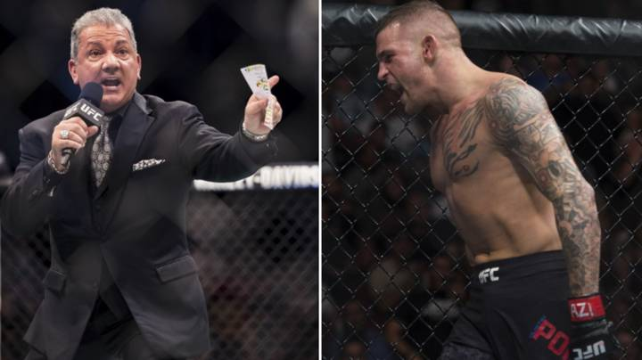 Bruce Buffer Explains How Dustin Poirier Can Stun Khabib Nurmagomedov At UFC 242