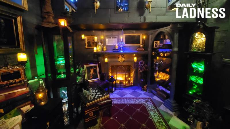 Man Creates Incredible Harry Potter World In His Garage