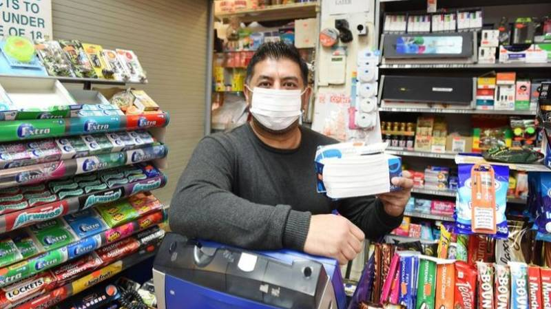 Shop Owner Selling Coronavirus Masks Warning Customers 'Don't Die, Please Buy'