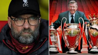 Man Utd Fans Ruthlessly Mock Liverpool Fans For Their Treble Dream Being Over
