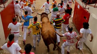 Two Aussies Gored During Spanish Running Of The Bulls Festival