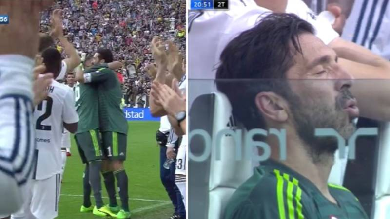 Gianluigi Buffon Receives Guard Of Honour And Standing Ovation In Final Juventus Appearance