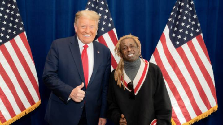 Lil Wayne Endorses President Trump And Gets Ripped On By 50 Cent