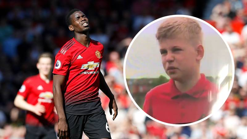 Young Fan Savages Manchester United Players On Live TV By Calling Them 'All Rubbish'