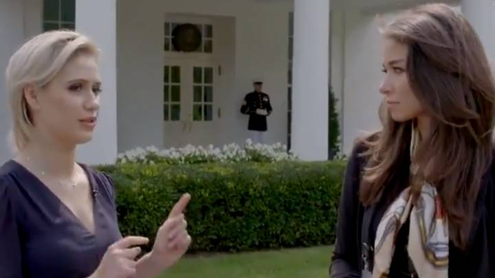 Borat's Daughter Got In White House And Within Metres Of Donald Trump