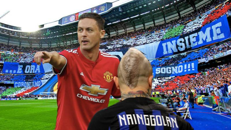 Inter Want To Swap Radja Nainggolan For Nemanja Matic