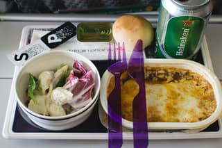 Company Is Flogging Loads Of Unused Airplane Meals If You've Missed That Mid-Flight Snack