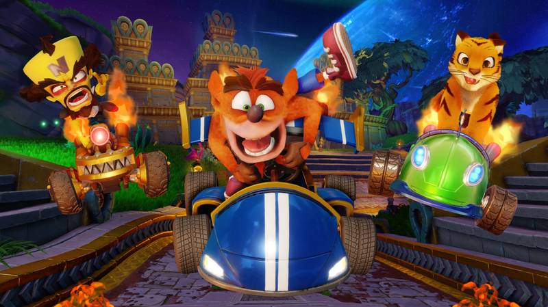 'Crash Team Racing Nitro Fueled' Boosts To Pole Position On UK Sales Chart