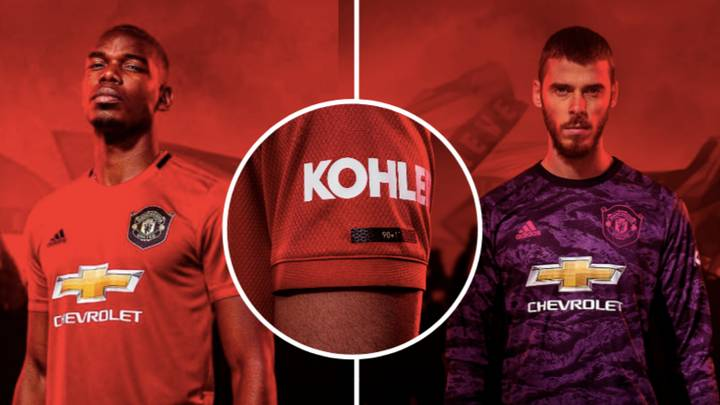 detailed look e8fb1 47802 Manchester United's Official Home Kit For 2019/20 Season ...