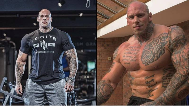 Bodybuilder Martyn Ford Is Bringing New Levels Of Hench To MMA