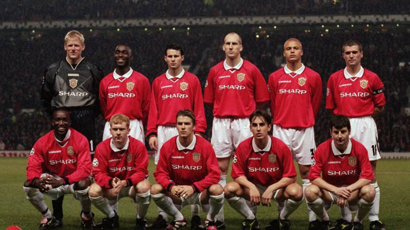 The Mindblowing Stat About Manchester United's Treble-Winning Side In 1999