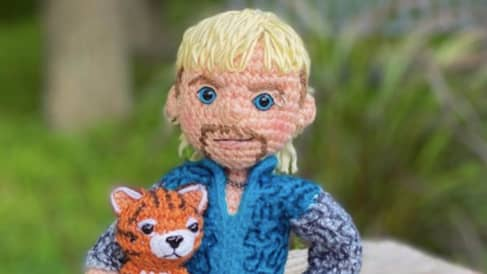 You Can Now Buy A 'Tiger King' Inspired Joe Exotic Crochet Kit