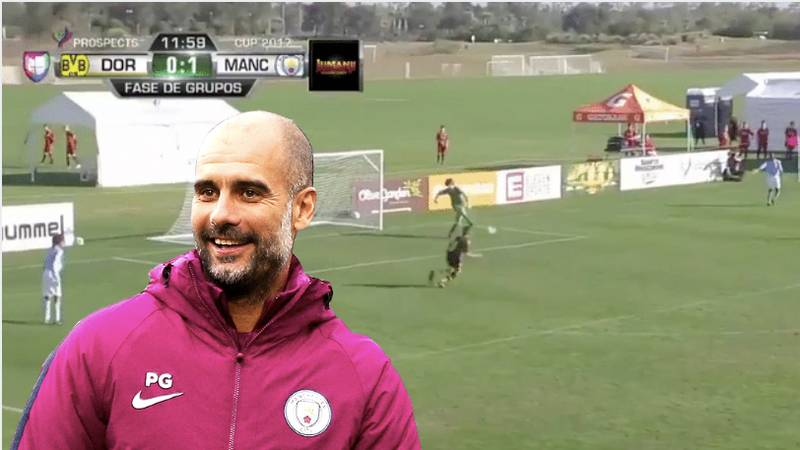 Pep Guardiola's Philosophy At Manchester City Is Being Applied At U12 Level