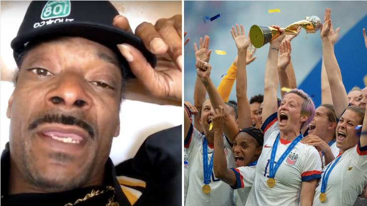 Snoop Dogg Demands Equal Pay For US Women's Football Team