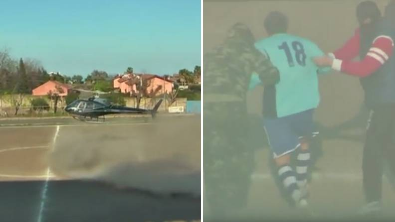 Italian Footballer's 'Fitting' Retirement Saw Him Get 'Kidnapped' Mid-Match
