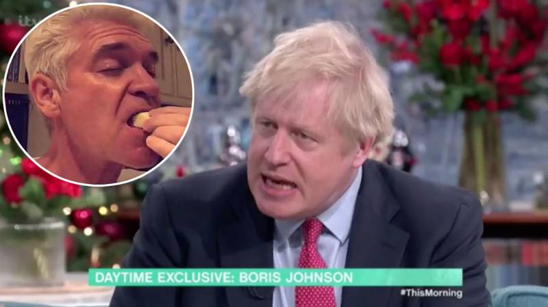 Phillip Schofield Shares Drunken Video Just Hours Before Interviewing Boris Johnson