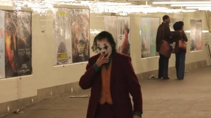 Leaked 'Joker' Scene Sees Joaquin Phoenix Smoking Cigarette In Aftermath Of Mayhem
