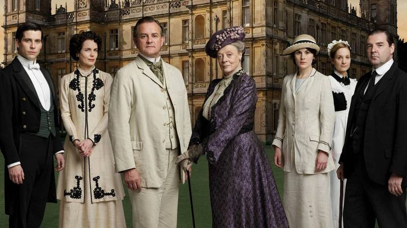 'Downton Abbey' Movie First Look Shows Maggie Smith Being Feisty As Ever