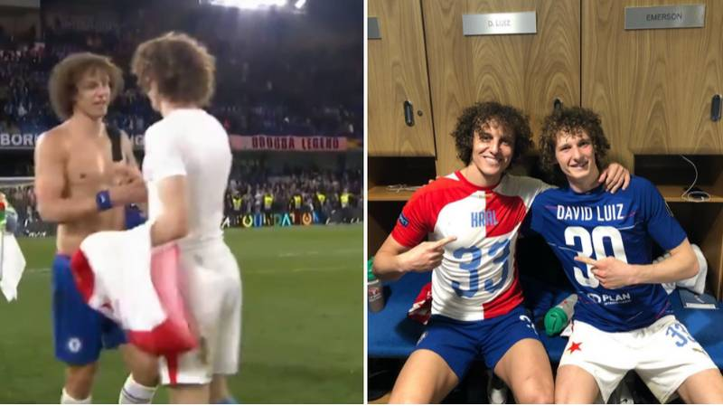 The Hilarious Moment David Luiz Met David Luiz After Last Night's Game
