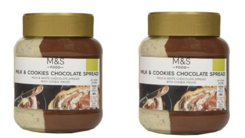 M&S Launches Milk And Cookies Spread And It Looks As Delicious As It Sounds