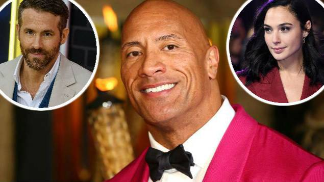 Filming Has Begun On New Film Starring The Rock, Ryan Reynolds And Gal Gadot