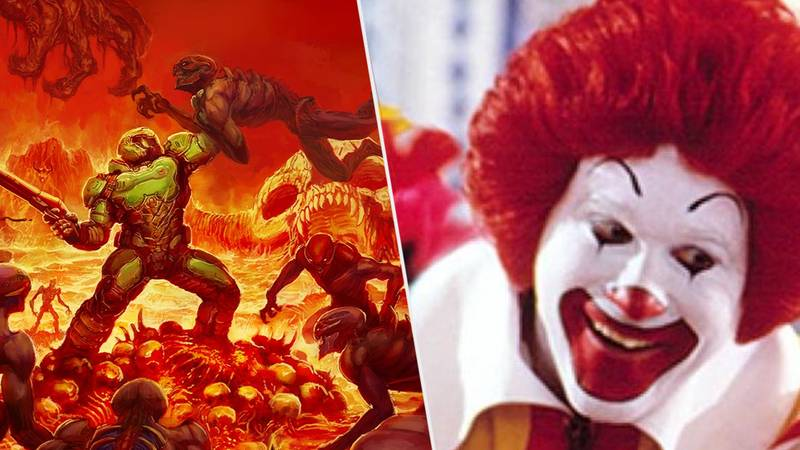 Gamer Gets 'DOOM' Running On A McDonald's Cash Register
